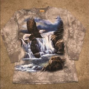 Vintage The mountain Majestic Eagle Shirt!